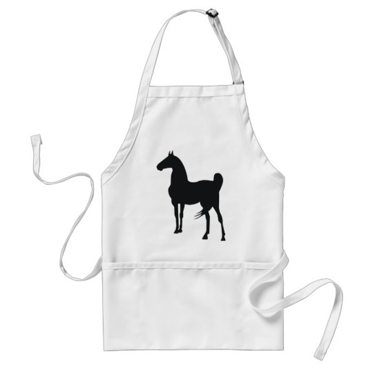 Saddlebred Horse Adult Apron
