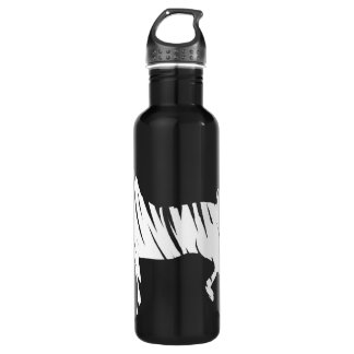 Saddlebred Horse Art Stainless Steel Water Bottle