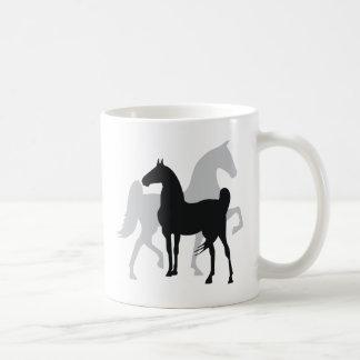 Saddlebred Horses Coffee Mug
