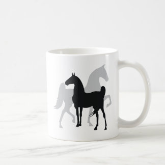 Saddlebred Horses Coffee Mugs