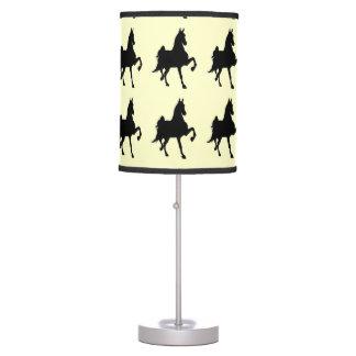 Saddlebred Horses On Parade Table Lamp