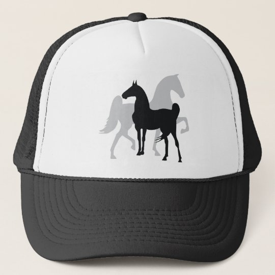 Saddlebred Horses Trucker Hat