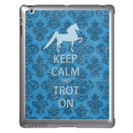 Saddlebred - Keep Calm iPad 2/3/4 Case iPad Case