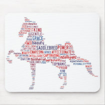 Saddlebred Mouse Pad