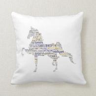 Saddlebred Pillow