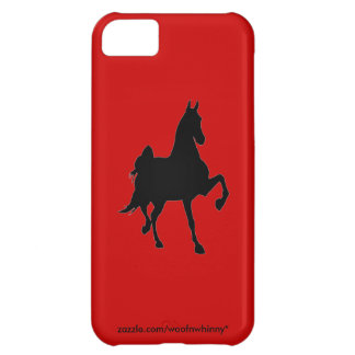 Saddlebred Silhouette iPhone 5C Covers