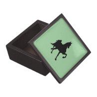Saddlebred Silhouette Premium Gift Boxes