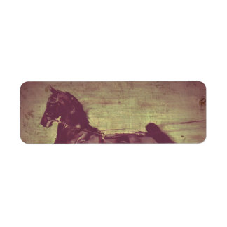 Saddlebred Song Label