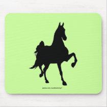 Saddlebreds Mouse Pad
