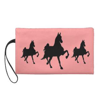 Saddlebreds on Parade Wristlet Clutches