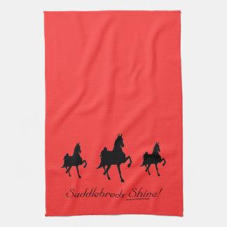 Saddlebreds Shine Hand Towel
