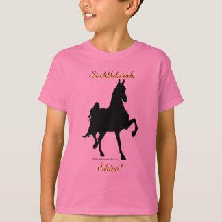 Saddlebreds Shine -- Kids Tee