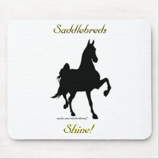 Saddlebreds Shine!  Mousepad