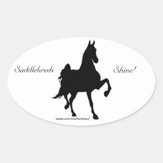 Saddlebreds Shine!  Sticker