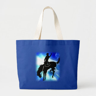 Saddlebronc 102 large tote bag