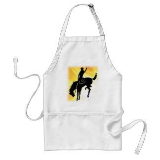Saddlebronc 103 adult apron