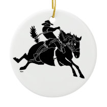 Saddlebronc 200 copy ceramic ornament