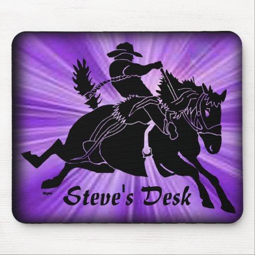Saddlebronc 201 mouse pad