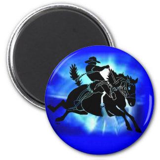 Saddlebronc 202 2 inch round magnet