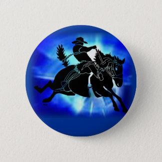 Saddlebronc 202 pinback button