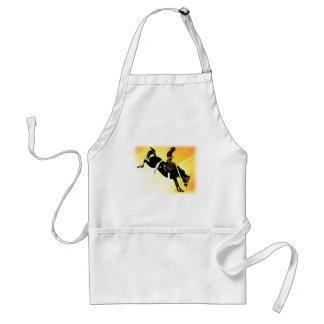 saddlebronc 301 adult apron