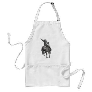 Saddlebronc 400 adult apron