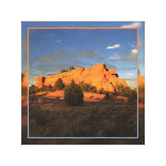 Saddlehorn - Colorado National Monument Canvas Print