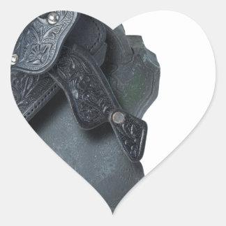 SaddleOnHeadstone070315 Heart Sticker