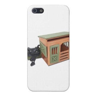 SaddleOnWoodenShed022111 Cases For iPhone 5