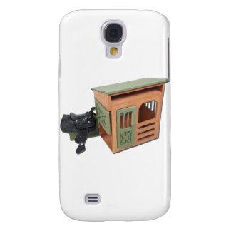 SaddleOnWoodenShed022111 Galaxy S4 Case