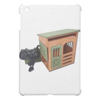SaddleOnWoodenShed022111 iPad Mini Case