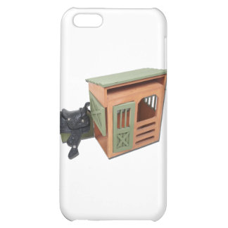 SaddleOnWoodenShed022111 iPhone 5C Cases