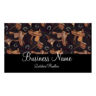 Saddles & Horseshoes Business Cards