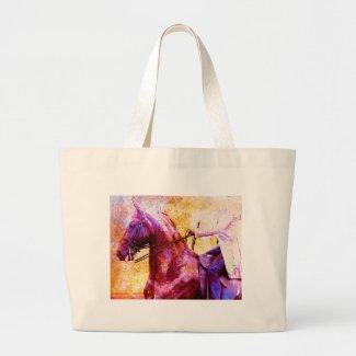Saddleseat Grunge Canvas Bags