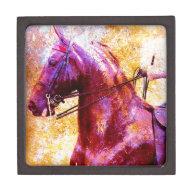 Saddleseat Grunge Premium Trinket Box