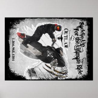 SaddleUp Outlaws Poster