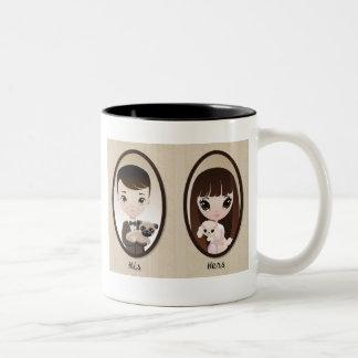 Sadie and Henri Coffee Mugs