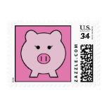 Sadie el cerdo rosado sello