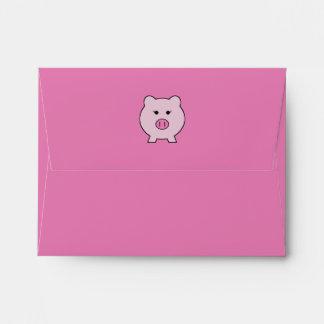 Sadie el cerdo rosado sobres