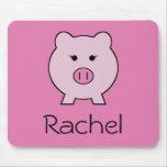 Sadie the Pink Pig Mouse Pad