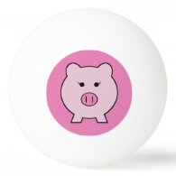 Sadie the Pink Pig Ping Pong Ball
