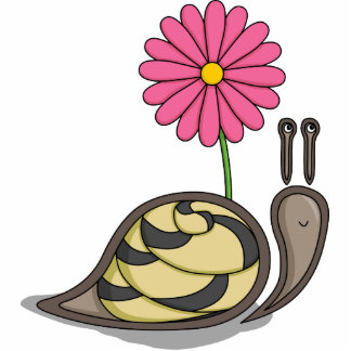 Sadie the Snail Photo Sculpture