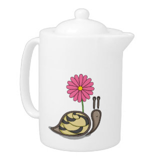 Sadie the Snail Tea Pot