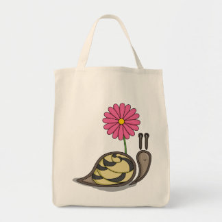 Sadie the Snail Tote Bag