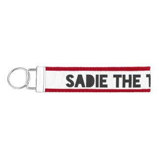 Sadie The Tiny Terror Wrist Keychain