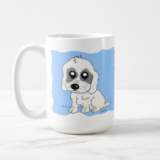 Sadie Watercolor Classic White Coffee Mug