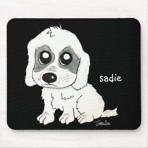 Sadie Watercolor Mouse Pad