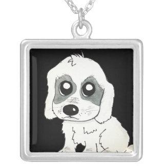 Sadie Watercolor Custom Necklace