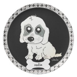 Sadie Watercolor Party Plates