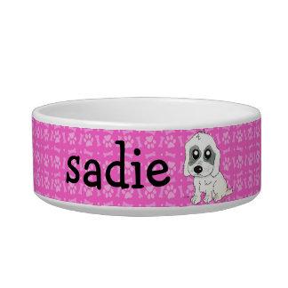 Sadie Watercolor Pet Water Bowl